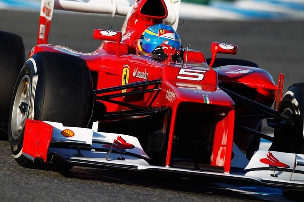 Alonso—Jerez testing 2012