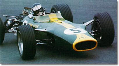 Clark at Zandvoort 1967