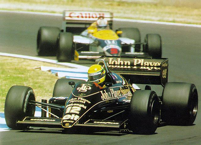 Lotus (clássica), equipe histórica de Formula 1 de 1986 - by f1-grandprix.com