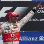Hamilton—Canada 2010 podium