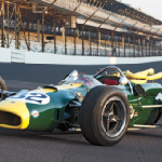 Dario Franchitti Drives Jim Clark's 1965 Indy Lotus