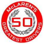 McLaren's 50 Greatest Drivers