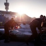 Schumi Testing at Sunset