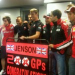 Button Claims Dramatic 200th GP Win