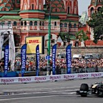Team Lotus in Red Square