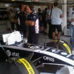 Inside The Williams F1 Garage