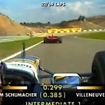 Villeneuve vs Schumacher 1997