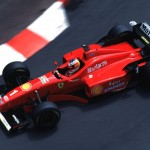 Schumacher's Monaco Qualifying 1996