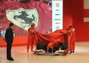 Ferrari F150 Italia launch 2011
