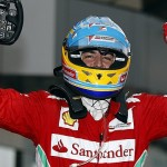Alonso Holds Off Perez To Win Wet Malaysian GP