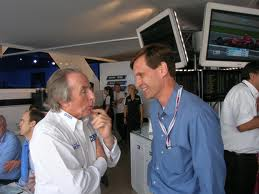 Tavo Hellmud With Sir Jackie Stewart