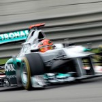 Schumacher Quickest in China P2