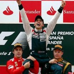 Maldonado Ends Williams' Drought At Spanish Grand Prix
