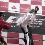 Spain 2012 podium