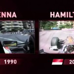 Hamilton/Senna Comparison At Monaco