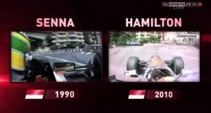 Senna v. Hamilton @ Monaco