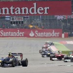 Webber Wins A Dry British GP