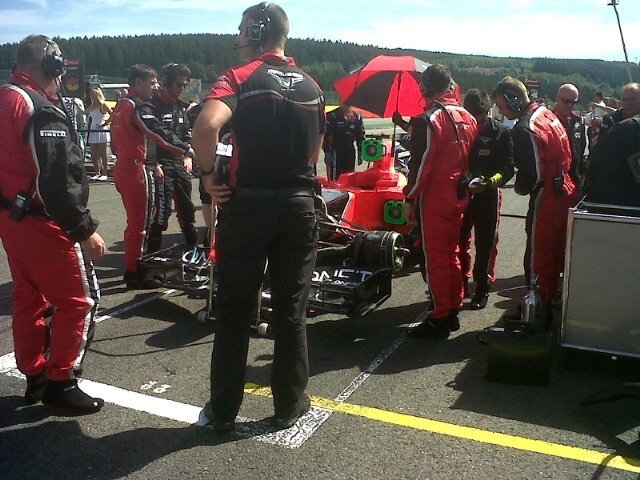 Pic at Spa 2012