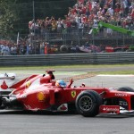 Hamilton Wins At Monza While Alonso Smiles