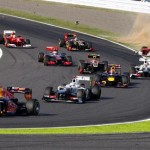 Vettel Captures Japanese GP As Alonso Is Shunted Out