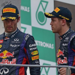 Vettel Edges Webber As Teammates Clash
