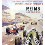 1960 French Grand Prix poster