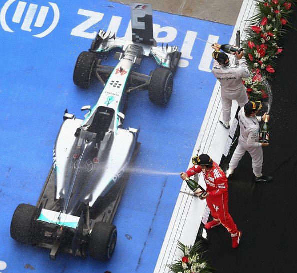 Shanghai 14 podium
