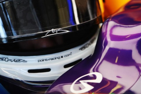 Vettel helmet decal