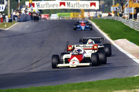 Lauda In Portugal 1984