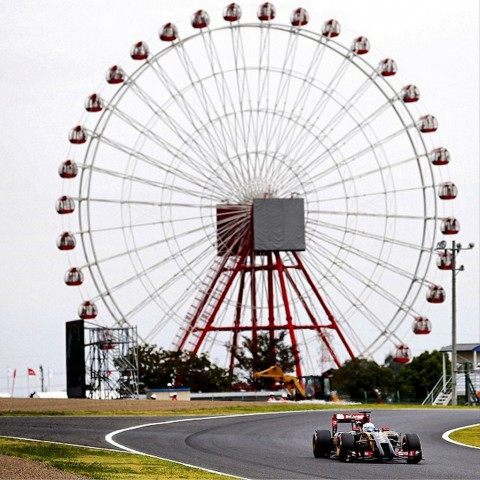 Suzuka's Big Wheel