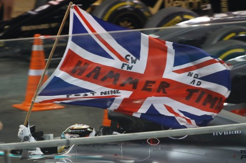 Lewis and the Union Jack