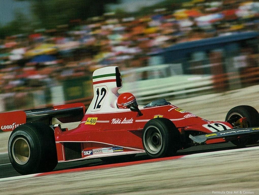 Niki Lauda Formula One Art Amp Genius