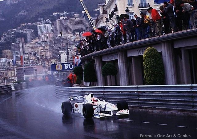 Barrichello—Monaco 1997