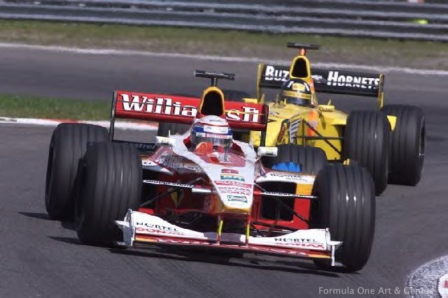 Zanardi & Hill—Spa 1999