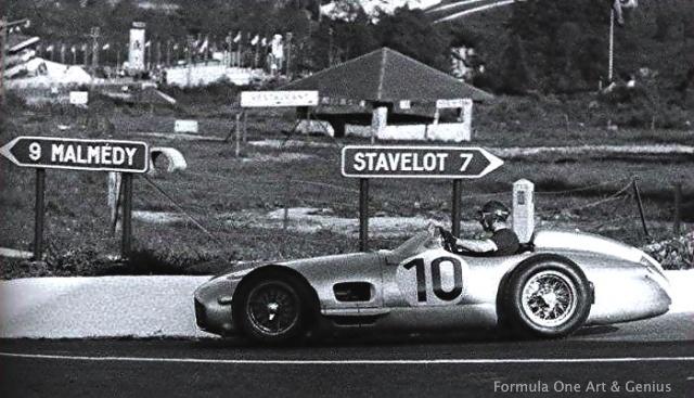 Fangio—Spa 1955