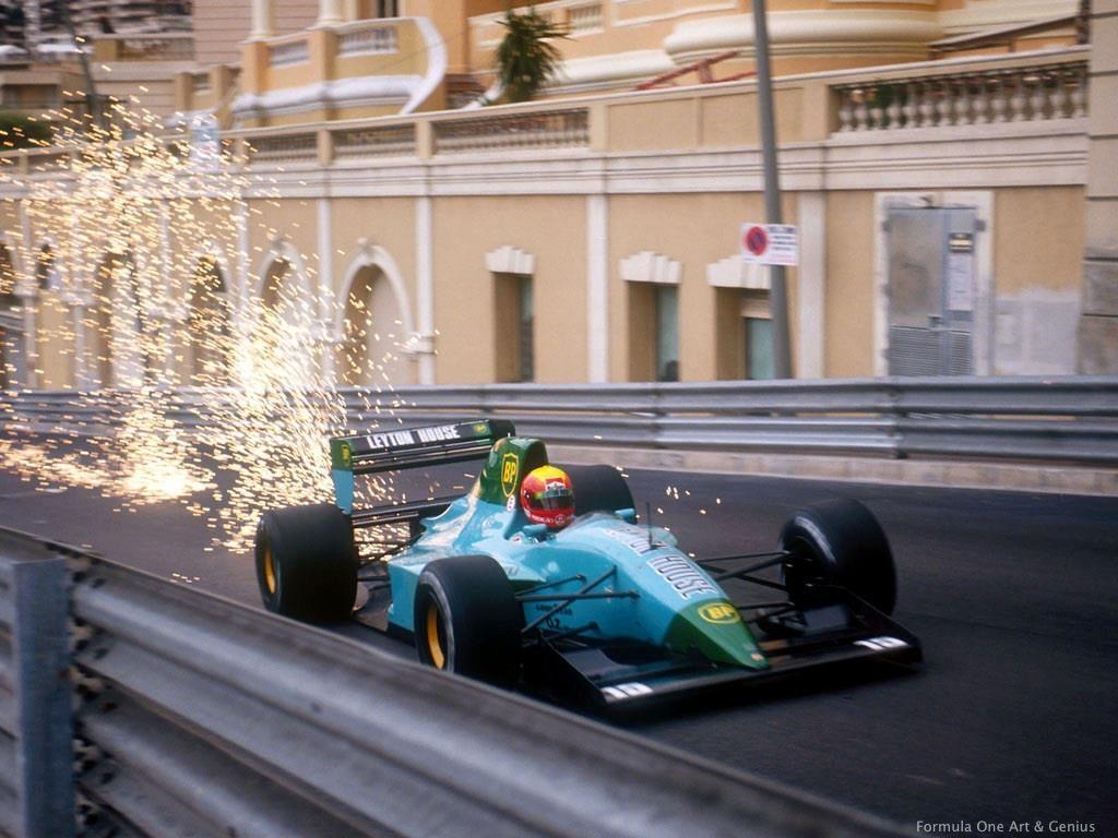 Gugelmin—Monaco 1991