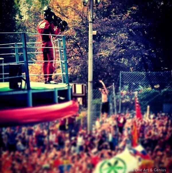 Monza 2012 podium