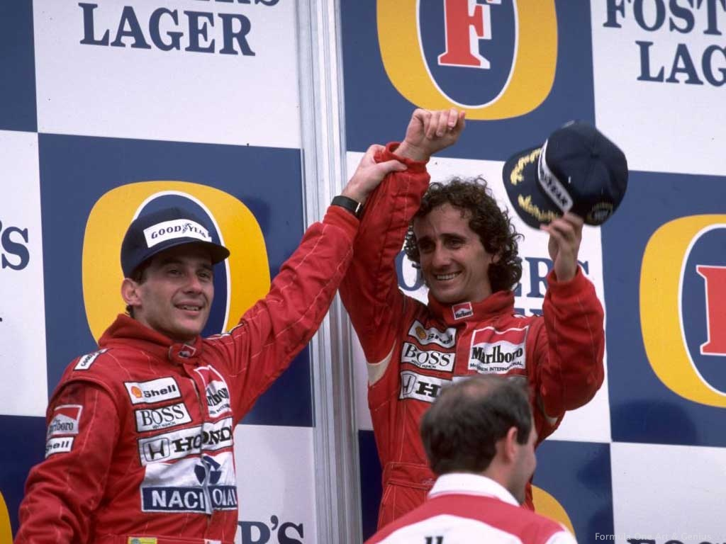 Flashback: The Senna-Prost Feud Begins