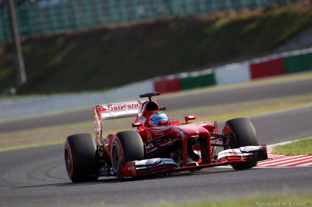 Alonso—Suzuka 2013