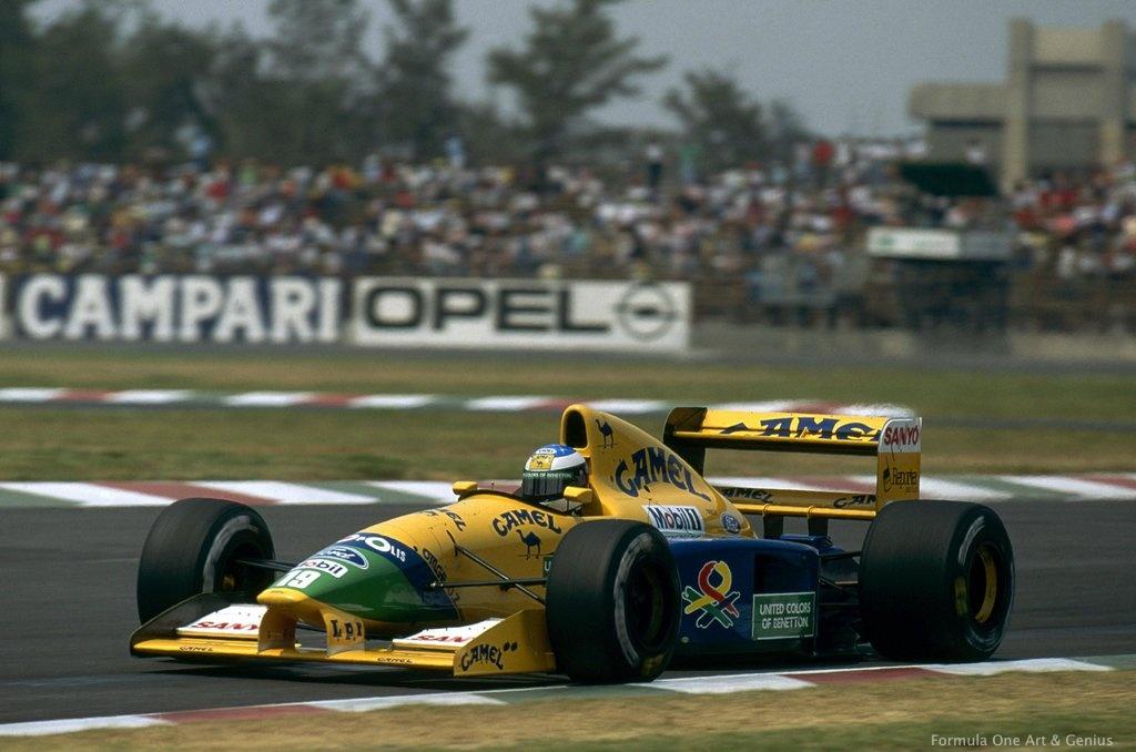 Schumacher—Mexico 92