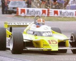 Jabouille—French GP 1979