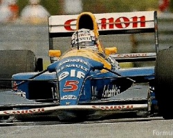 Mansell—Estoril 1992