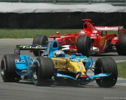 Alonso & Schumacher—Indy 2006