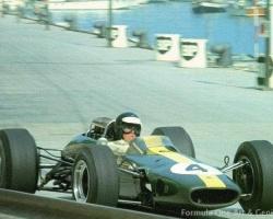 Clark at Monaco