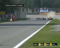 Curva Grande, Monza 2011