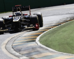 Grosjean—Melbourne 2012 qualifying