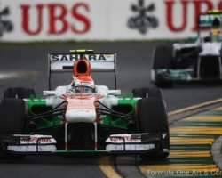 Sutil—Albert Park 2013